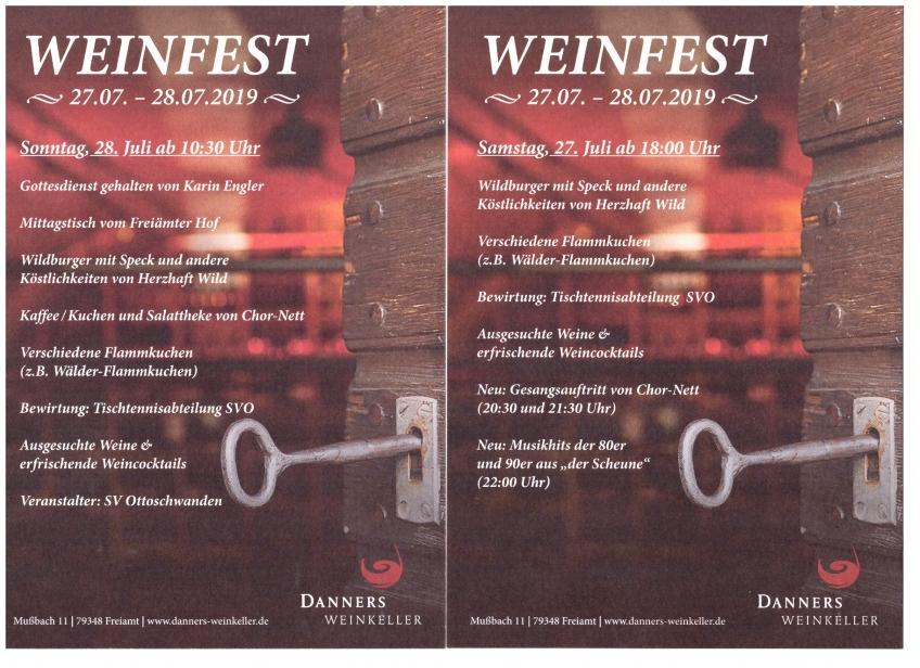 Danners Weinfest